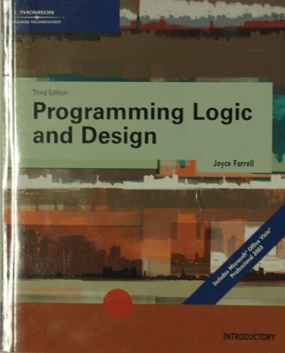 9780619216900: Programming Logic and Design, Third Edition Introductory