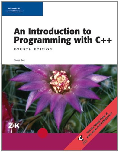 9780619217112: Introduction to Programming with C++ (Visual Studio)