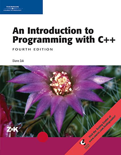 9780619217280: Introduction to Programming with C++ (Book Only) (Sam 2007 Compatible Products)