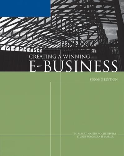 9780619217426: Creating a Winning E-Business