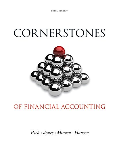 9780619229153: Bundle: Cornerstones of Financial Accounting, Loose-Leaf Version (with 2011 Annual Reports: Under Armour, Inc. & VF Corporation) + CengageNOW™, 1 term Printed Access Card