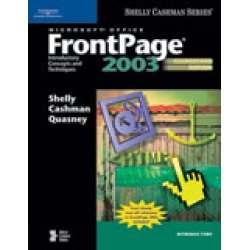 9780619255237: Microsoft FrontPage 2003: Introductory Concepts and Techniques