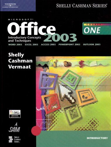 9780619255589: Microsoft Office 2003: Introductory Concepts and Techniques (Book Only)