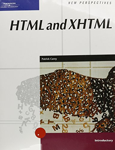 9780619267469: New Perspectives on HTML and XHTML, Introductory (New Perspectives Series)