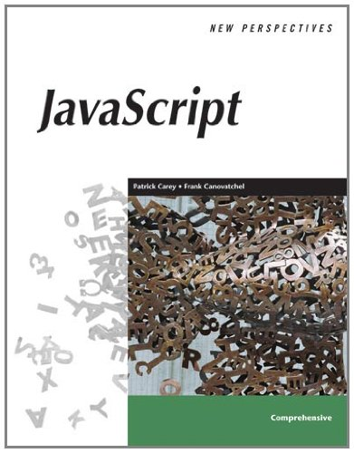 9780619267971: New Perspectives On Javascript: Comprehensive