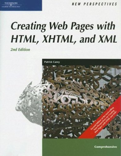9780619268015: New Perspectives on Creating Web Pages with HTML, XHTML, and XML, Comprehensive (New Perspectives Series)