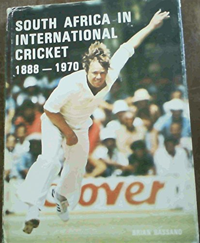 9780620040143: South Africa in international cricket 1888-1970