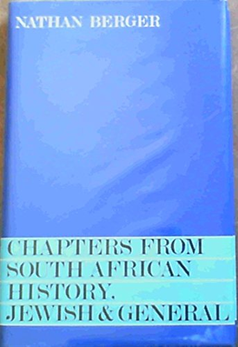 9780620058094: Chapters from South African history, Jewish and general