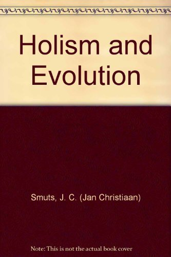 Holism and Evolution: J. C. (Jan