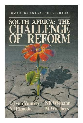 9780620112741: South Africa: The challenge of reform