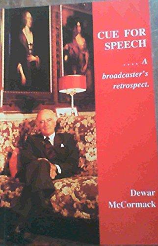 9780620136167: Cue for speech: A broadcaster's retrospect
