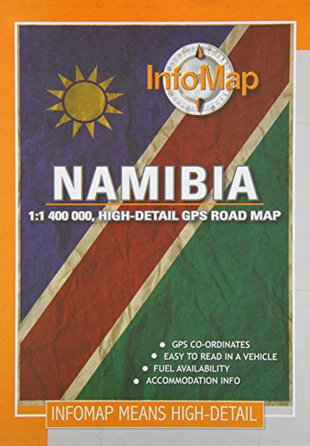 9780620250115: Namibia: Highly Detailed GPS Road Map