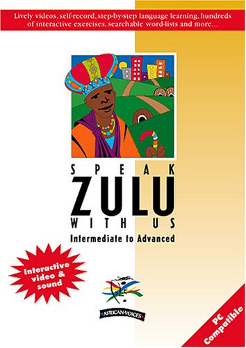 9780620277259: Speak Zulu with Us: Intermediate to Advanced (Multimedia CD-ROM & Printable Coursebook) (English and Zulu Edition)