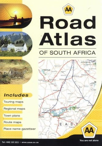 9780620310635: AA Road Atlas of South Africa