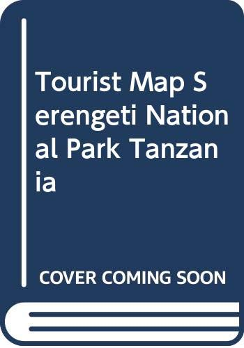 9780620341929: The Tourist Map of the Serengeti National Park