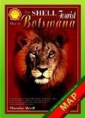 9780620349758: The Shell Tourist Map of Botswana