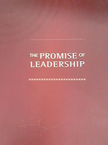 9780620440820: The Promise of Leadership