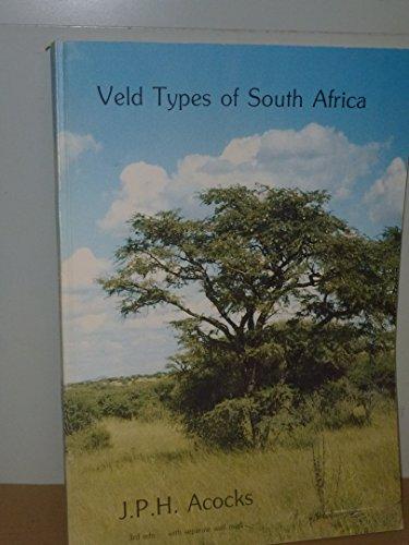 VELD TYPES OF SOUTH AFRICA (Memoirs of: Acocks, J P