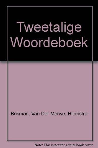 Tweetalige Woordeboek Afrikaans-Engels: Bosman, Prof. Dr.