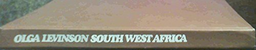 SOUTH WEST AFRICA: Levinson, Olga: