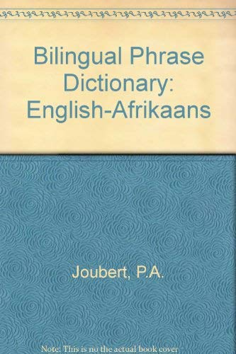 9780624030805: Bilingual Phrase Dictionary: English-Afrikaans (Afrikaans and English Edition)