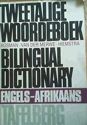 9780624031949: Tweetalige Woordeboek. 2 Vols: English -Afrikaans; Afrikaans- English.