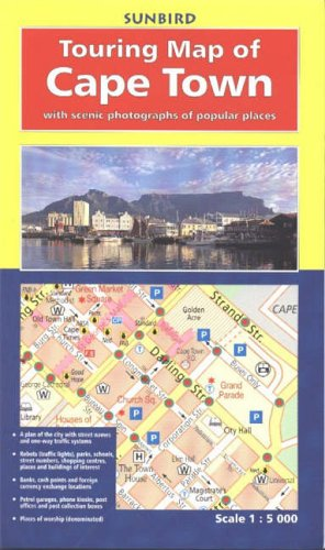 9780624040521: Touring Map of Cape Town: With Scenic Photographs of Popular Places