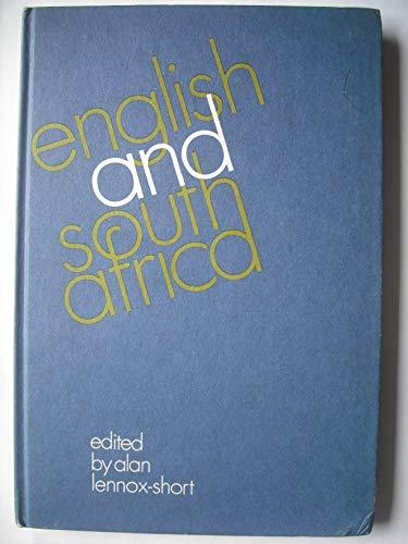 English and South Africa,: Alan Lennox-Short