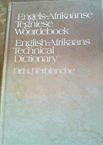 9780625012817: Engels-Afrikaans Tegniese Woordebk
