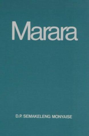 9780627009563: Marara (Setswana Edition)