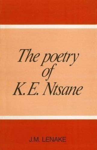 9780627013270: The Poetry of K.E. Ntsane (Southern Sotho Edition)