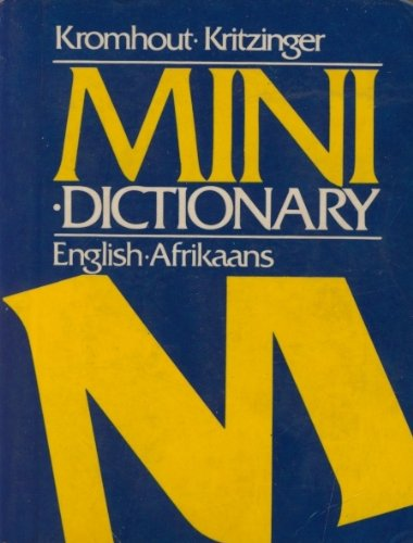 9780627014482: Mini-Dictionary: English-Afrikaans Afrikaans-English (Afrikaans and English Edition)
