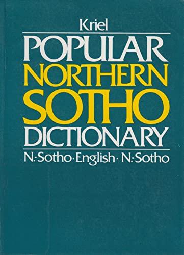 9780627015861: Popular Northern Sotho Dictionary: N. Sotho-English English-N. Sotho