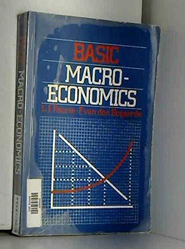 Basic Macro-Economics: Fourie, L.J.; van