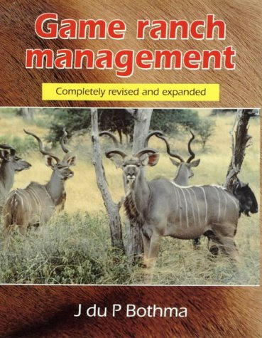 9780627021237: Game Ranch Management