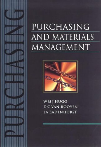 9780627022142: Purchasing and Materials Management
