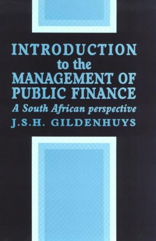 9780627022494: Introduction to the Management of Public Finance: A South African Perspective