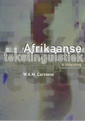9780627022760: Afrikaanse Tekslinguistiek: 'n Inleiding (Afrikaans Edition)