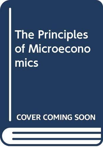9780627022807: The Principles of Microeconomics