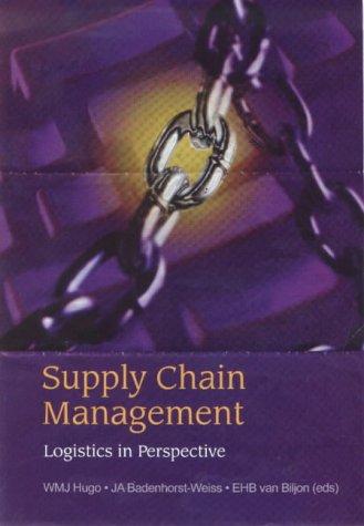 9780627025044: Supply Chain Management: A Logistics Perpective
