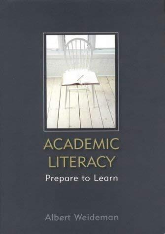 9780627025419: Academic Literacy: Prepare to Learn 2nd ed.