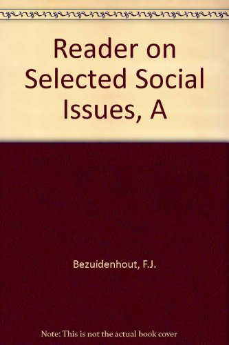 9780627025785: A Reader on Selected Social Issues