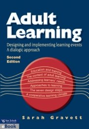 9780627025860: Adult Learning: Designing and implementing learning events/ A dialogic approach