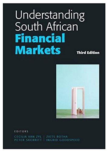 9780627026195: Understanding South African Financial Markets