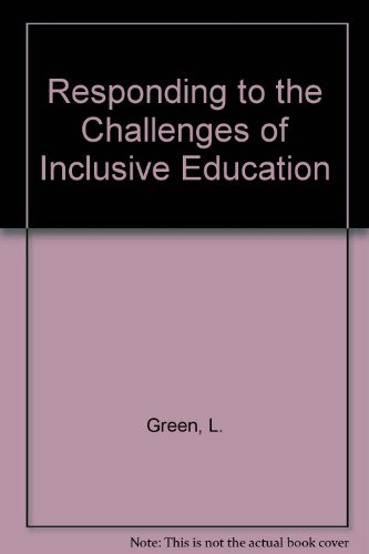 9780627026706: Responding to the Challenges of Inclusive Education