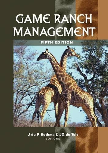 9780627027154: Game Ranch Management