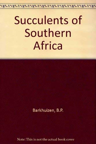9780628014078: Succulents of Southern Africa