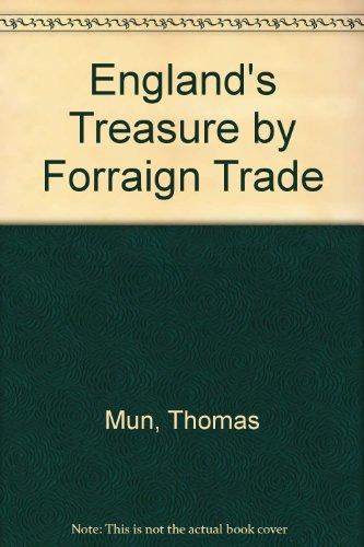 9780631000501: England's Treasure by Forraign Trade ([Reprints of economic classics])