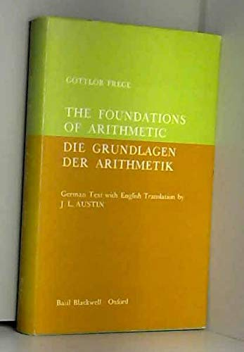 9780631030003: Foundation of arithmetic