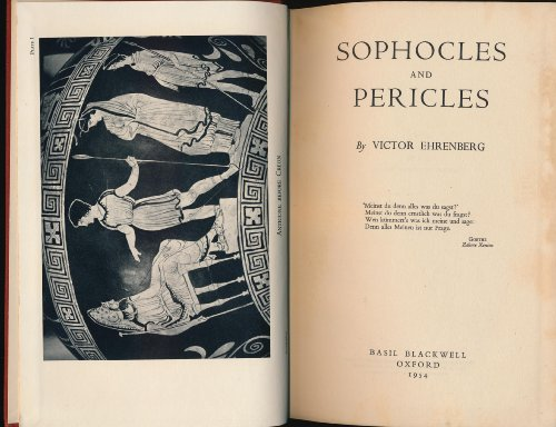 9780631045403: Sophocles and Pericles